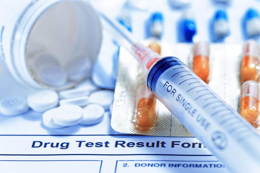результат теста на наркотики